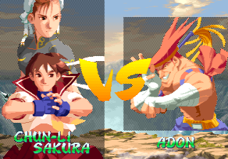 Street Fighter Alpha 2 (ARC)   © Capcom 1996    4/8