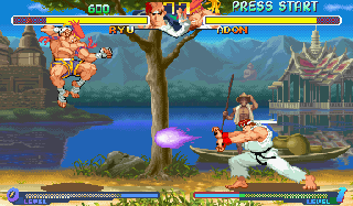 Street Fighter Alpha 2 (ARC)   © Capcom 1996    5/8