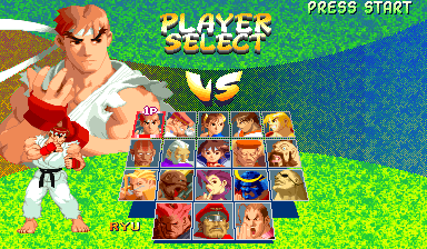 Street Fighter Alpha 2 (ARC)   © Capcom 1996    8/8