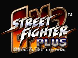 Street Fighter EX2 Plus (ARC)  © Capcom 1999   1/3