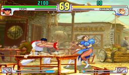 Street Fighter III: 3rd Strike: Fight For The Future (ARC)   © Capcom 1999    2/3