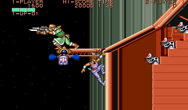 Strider (ARC)   © Capcom 1989    8/8