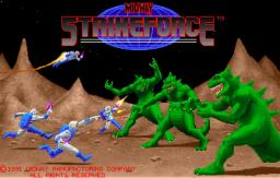 Strike Force (ARC)  © Midway 1991   1/4