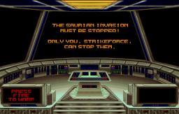 Strike Force (ARC)  © Midway 1991   3/4