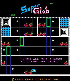 Super Glob (ARC)  © Epos 1983   1/3