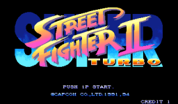 Super Street Fighter II Turbo (ARC)   © Capcom 1994    1/3