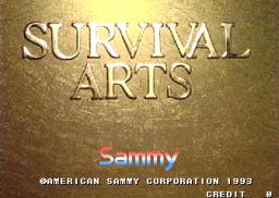 Survival Arts (ARC)  © Sammy 1993   1/4