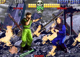 Survival Arts (ARC)  © Sammy 1993   4/4