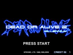Dead Or Alive 2: Millennium (ARC)  © Tecmo 2000   1/4