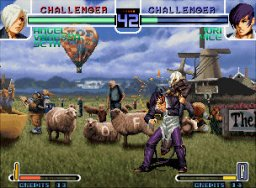 The King Of Fighters 2002 (MVS)  © SNK 2002   1/7