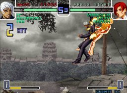 The King Of Fighters 2002 (MVS)  © SNK 2002   3/7