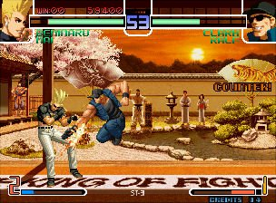 The King Of Fighters 2002 (MVS)  © SNK 2002   4/7