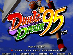 Dunk Dream '95 (ARC)   © Data East 1996    1/4