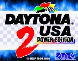 Daytona USA 2: Power Edition (ARC)   © Sega 1999    1/3
