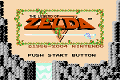 The Legend Of Zelda  © Nintendo 2004  (GBA)   1/3