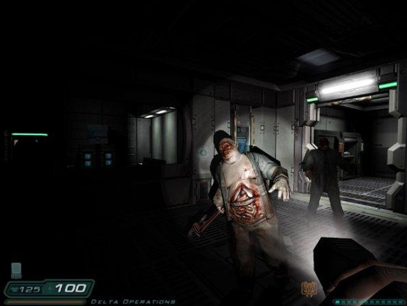 Doom 3 (PC)  © Activision 2004   4/7