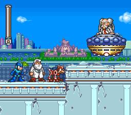 Mega Man 7 (SNES)  © Capcom 1995   2/12