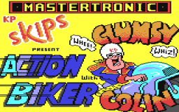 Action Biker (C64)   © Mastertronic 1985    1/2