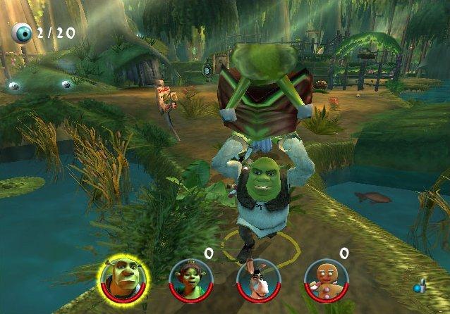 Shrek 2 (XBX)  © TDK 2004   4/4