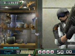 Crisis Zone (PS2)  © Namco 2004   2/5