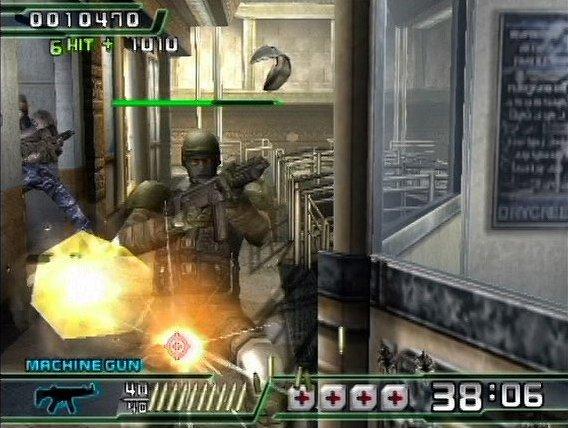 Crisis Zone  © Namco 1999  (PS2)   3/5