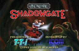 Beyond Shadowgate (PCCD)  © Icom 1993   1/3