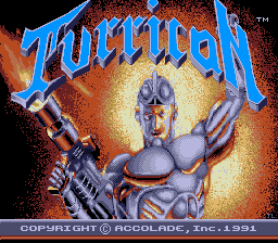 Turrican (PCE)   © Accolade 1991    1/2
