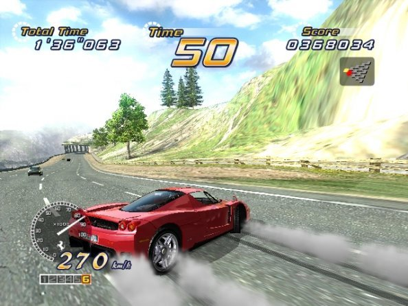 Out Run 2 (XBX)   © Sega 2004    4/5