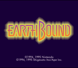 EarthBound (SNES)  © Nintendo 1994   1/10