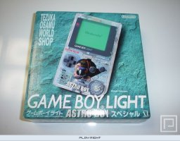 Game Boy Light [Astro Boy Osamu World Shop Limited Edition]   © Nintendo 1998   (GB)    1/3