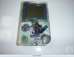 Game Boy Light [Astro Boy Osamu World Shop Limited Edition]   © Nintendo 1998   (GB)    2/3
