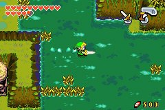 The Legend Of Zelda: The Minish Cap (GBA)   © Nintendo 2004    7/8