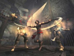 Prince Of Persia: Warrior Within (PS2)  © Ubisoft 2004   1/8