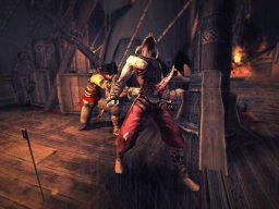 Prince Of Persia: Warrior Within (PS2)  © Ubisoft 2004   2/8