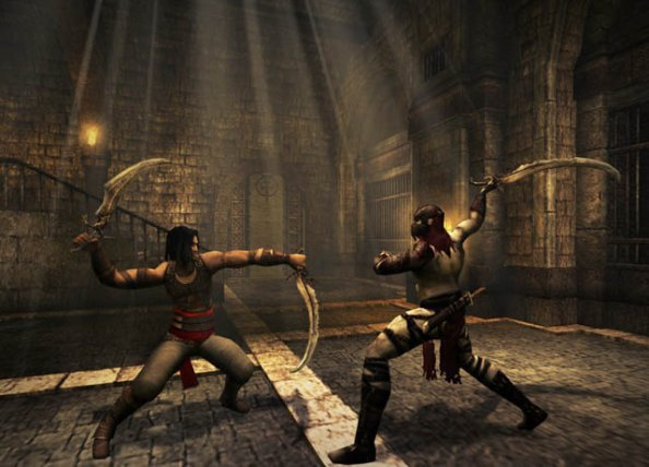 Prince Of Persia: Warrior Within (PS2)  © Ubisoft 2004   5/8