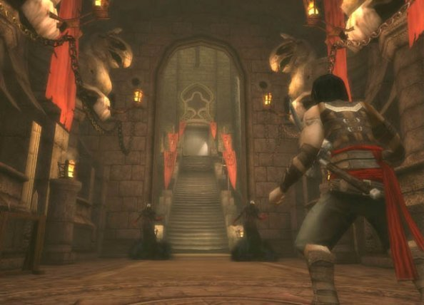 Prince Of Persia: Warrior Within (PS2)  © Ubisoft 2004   6/8