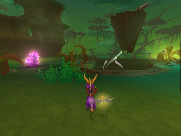 Spyro: A Hero's Tail (PS2)  © VU Games 2004   4/6