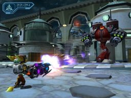 Ratchet & Clank 3 (PS2)   © Sony 2004    2/5