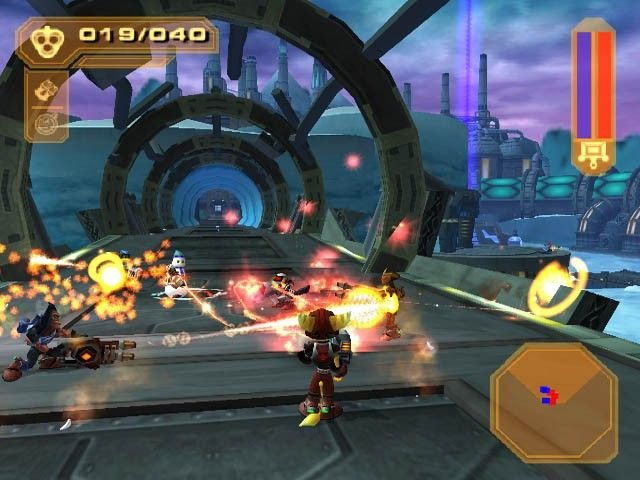 Ratchet & Clank 3 (PS2)   © Sony 2004    4/5