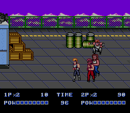 Double Dragon II: The Revenge (SMD)   ©  1991    2/4