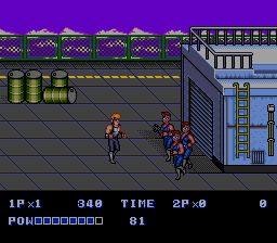 Double Dragon II: The Revenge (SMD)   ©  1991    3/4