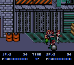 Double Dragon II: The Revenge (SMD)   ©  1991    4/4
