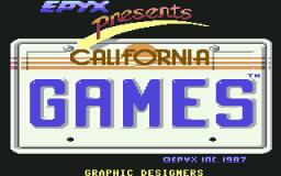 California Games (C64)  © Epyx 1987   1/5