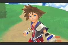 Kingdom Hearts: Chain Of Memories (GBA)  © Square Enix 2004   5/8