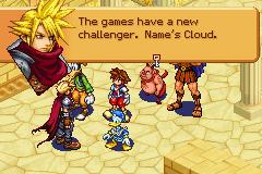 Kingdom Hearts: Chain Of Memories (GBA)  © Square Enix 2004   2/8