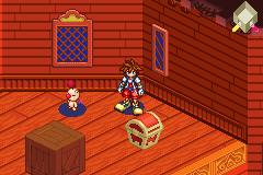 Kingdom Hearts: Chain Of Memories (GBA)  © Square Enix 2004   4/8