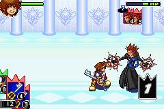 Kingdom Hearts: Chain Of Memories (GBA)  © Square Enix 2004   8/8