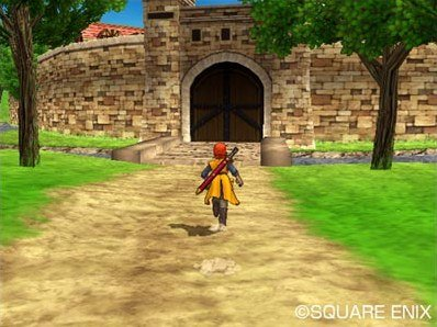 Dragon Quest VIII: Journey Of The Cursed King (PS2)  © Square Enix 2004   11/12