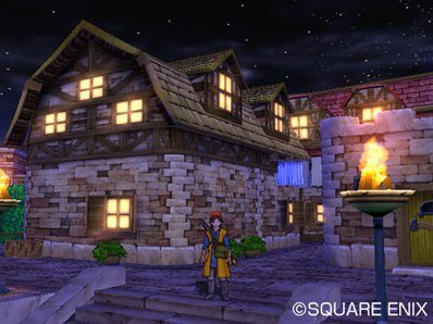 Dragon Quest VIII: Journey Of The Cursed King (PS2)  © Square Enix 2004   12/12