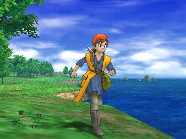 Dragon Quest VIII: Journey Of The Cursed King (PS2)  © Square Enix 2004   6/12